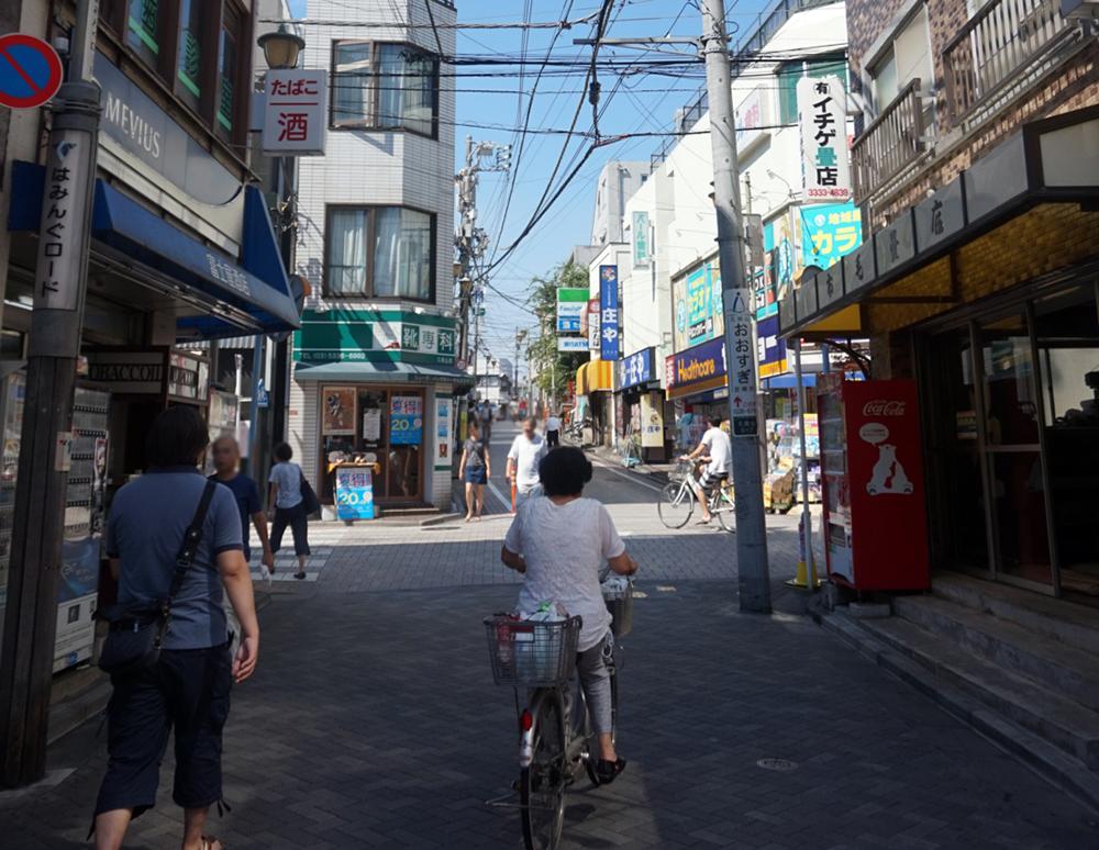 京王井の頭線久我山駅の商店街