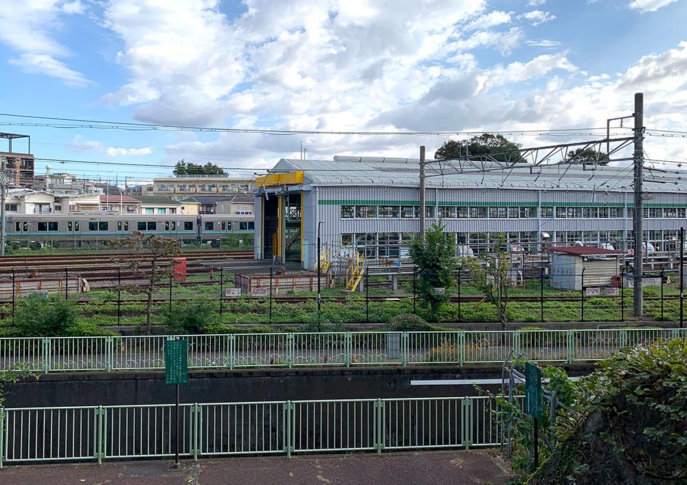 富士見ヶ丘車両基地