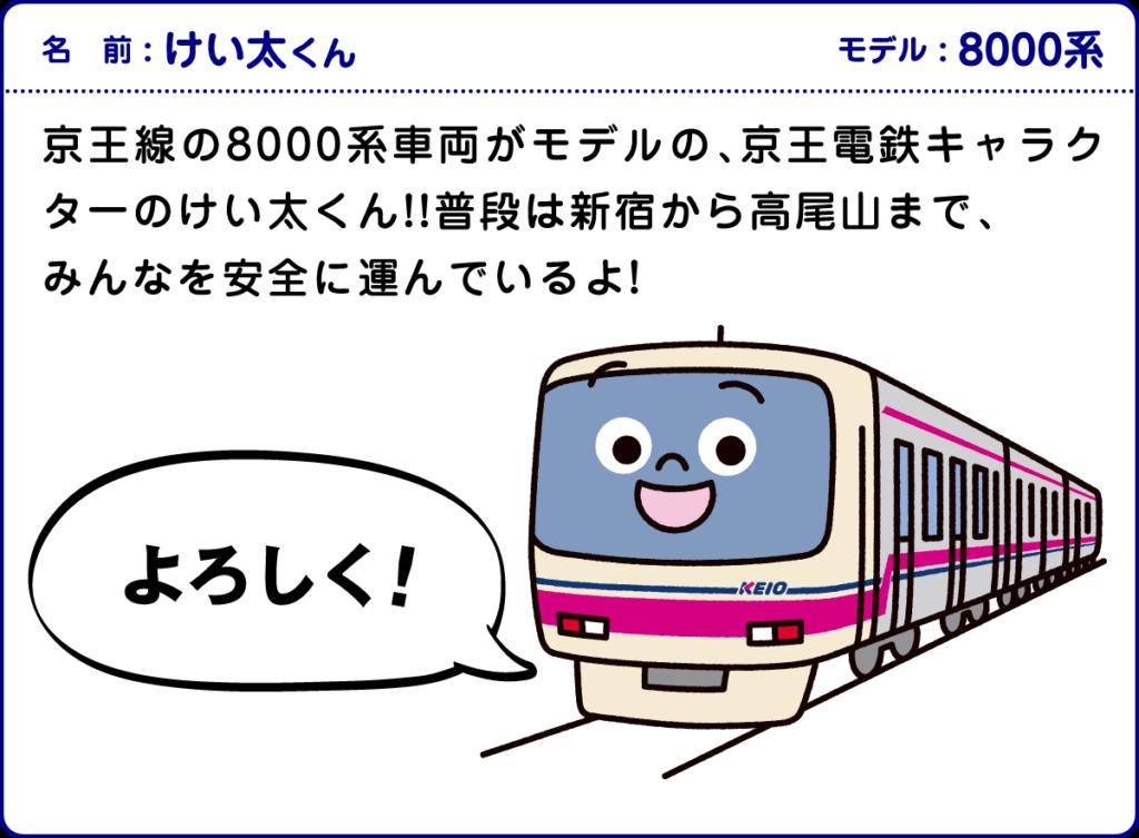 京王電鉄キャラクターけい太くん