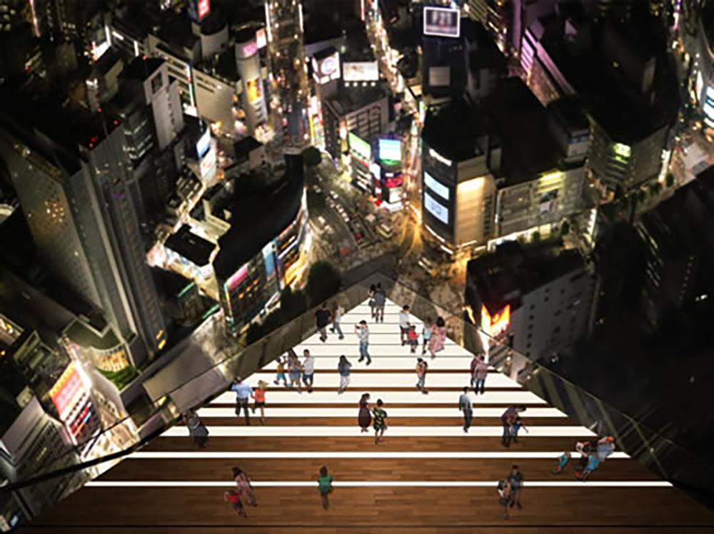 渋谷スクランブルスクエアのSHIBUYA SKY SKY EDGE イメージ
