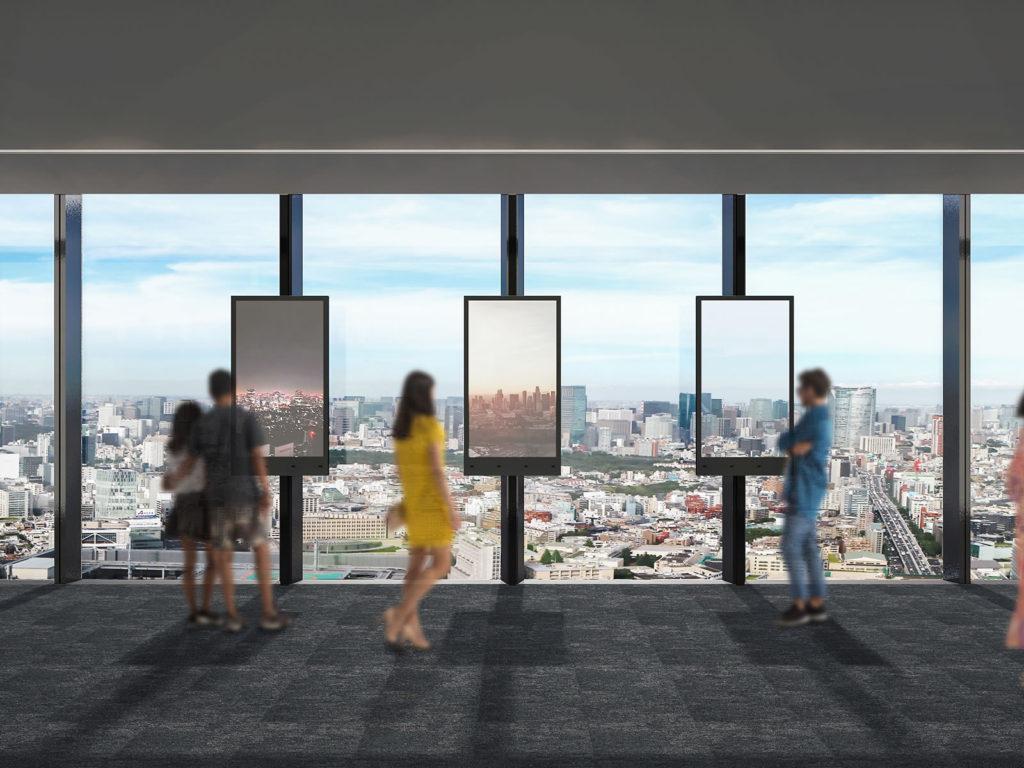 渋谷スクランブルスクエアのSHIBUYA SKY PARALLEL WINDOWS〜視点の窓〜 イメージ