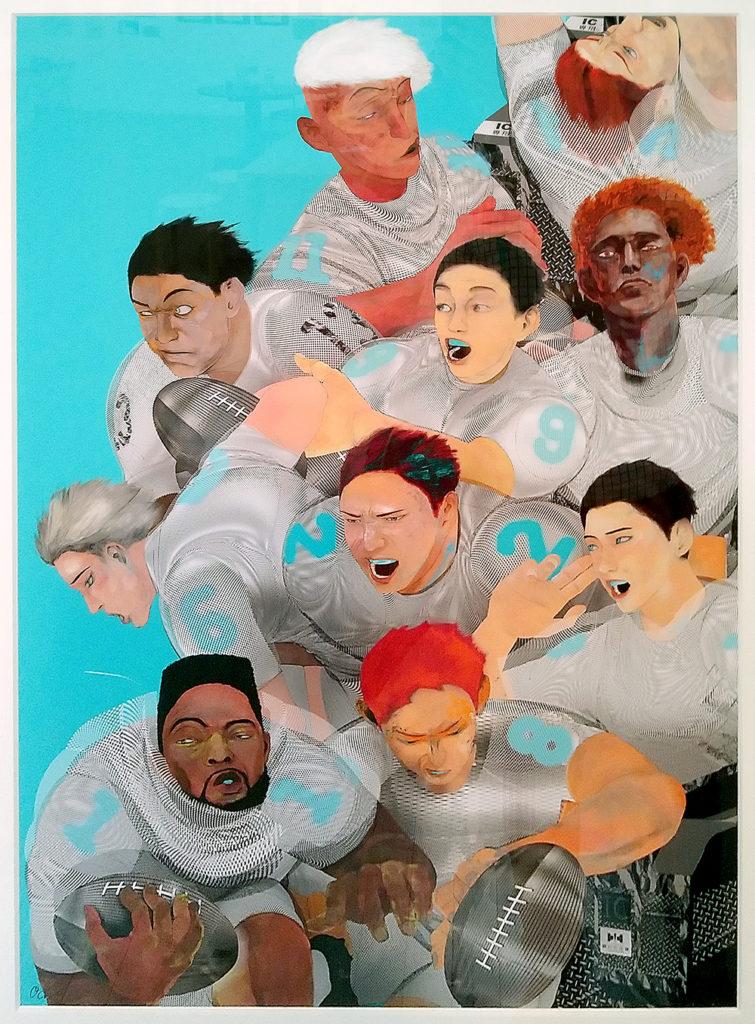 ラグビー自販機のオリジナル画