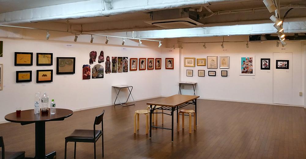 アートコンプレックスセンター「INTRO 8」の会場