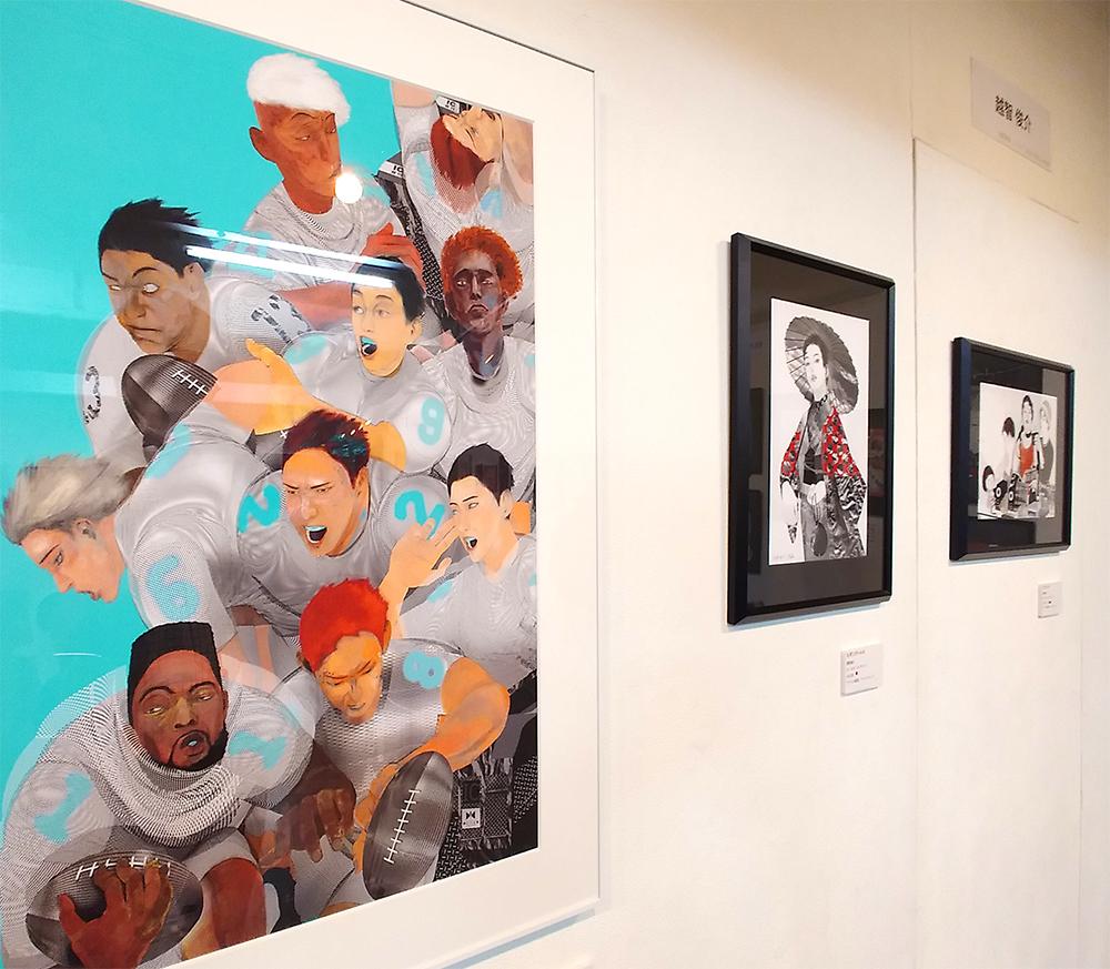 アートコンプレックス・センター「INTRO 8」の越智俊介さんの作品