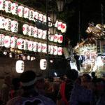 久我山稲荷神社例大祭の神輿