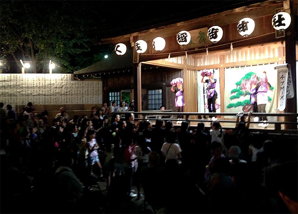 久我山稲荷神社例大祭の奉納演芸