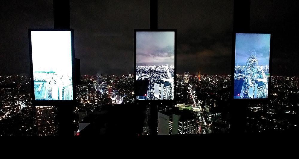 SHIBUYA SKYのPARALLEL WINDOWS