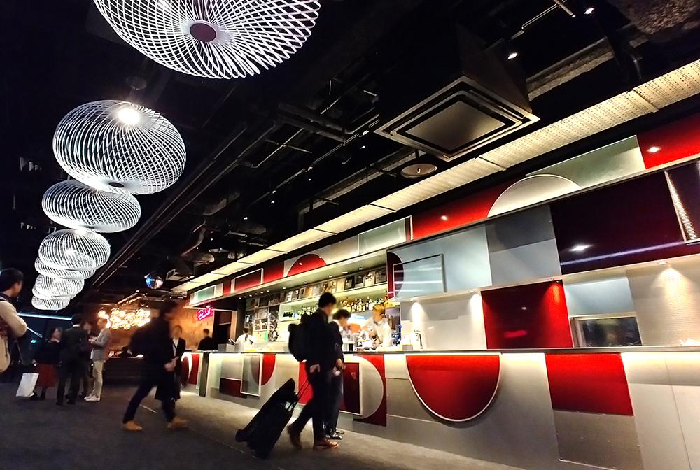 SHIBUYA SKYのParadise Lounge