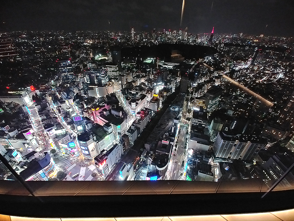 SHIBUYA SKYの眺望