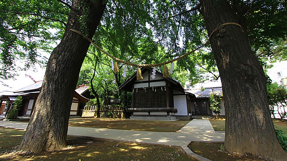 世田谷代田駅の近くにある代田八幡神社