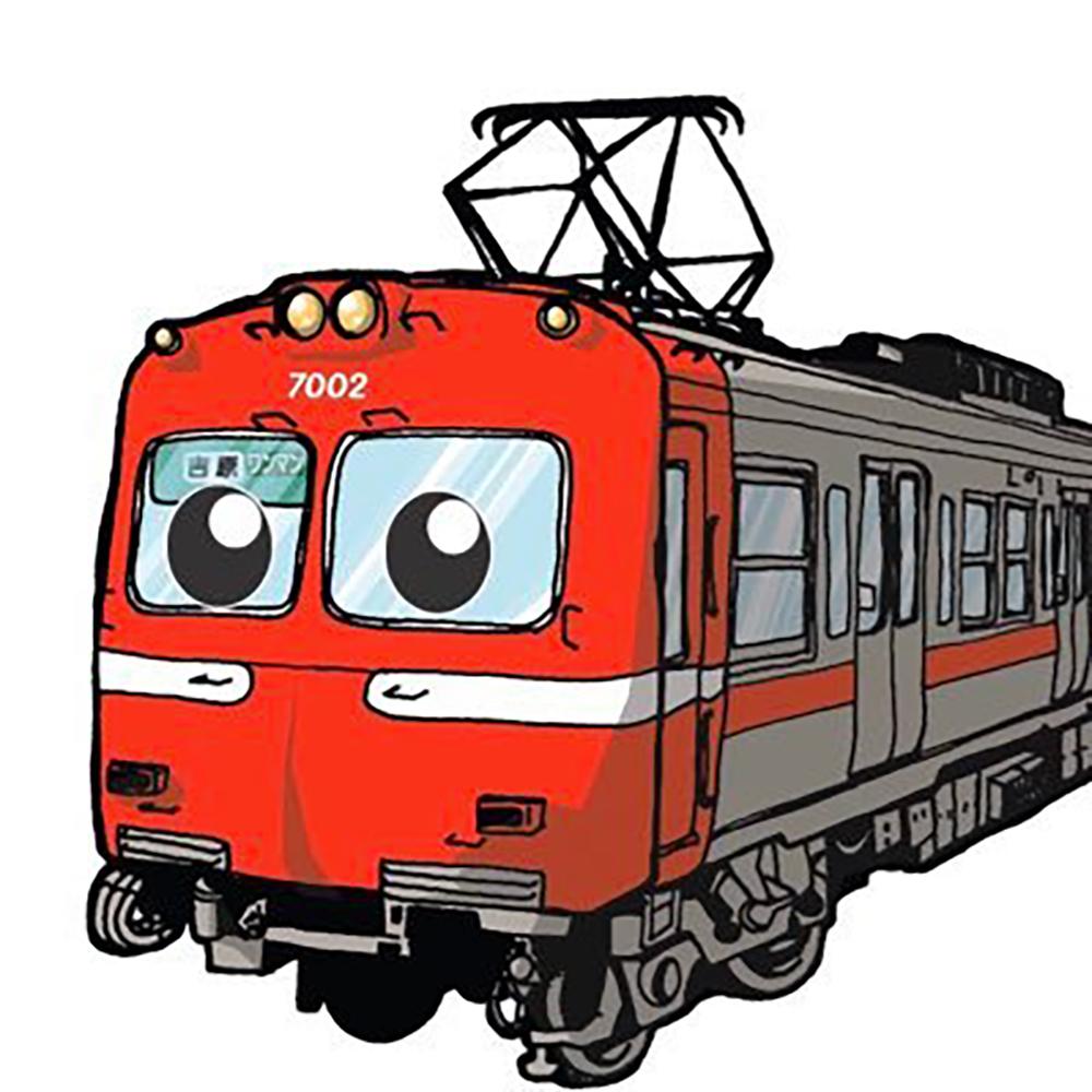 岳南電車のツイッター公式アカウントに登場する「岳ちゃん」