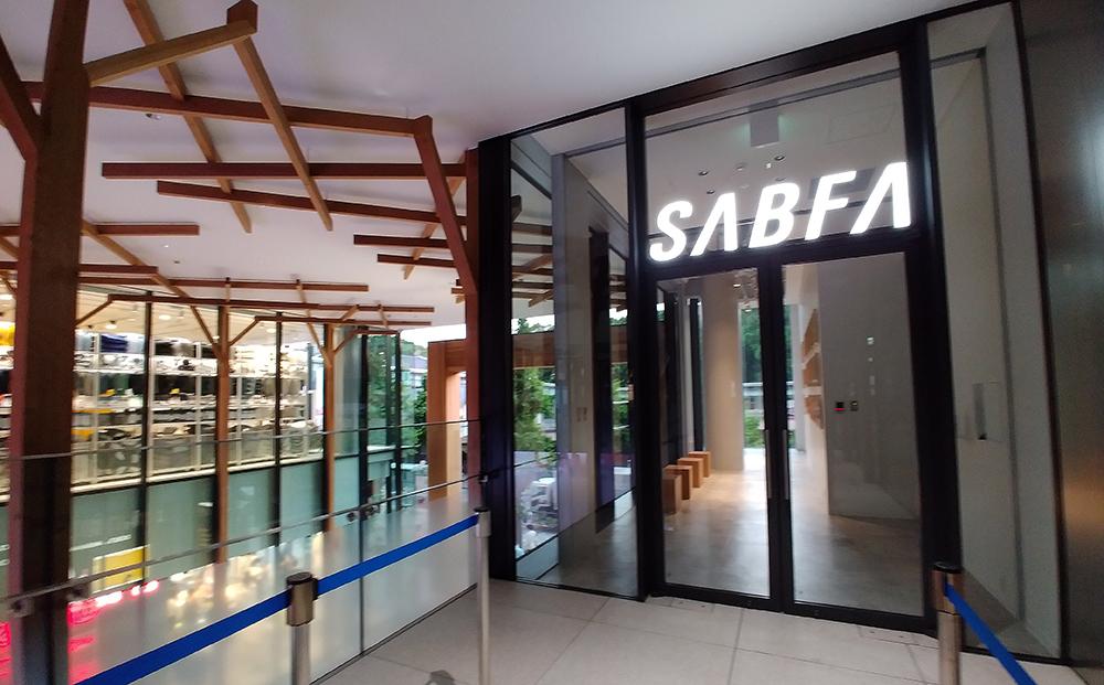 ウィズ 原宿2階のSABFA