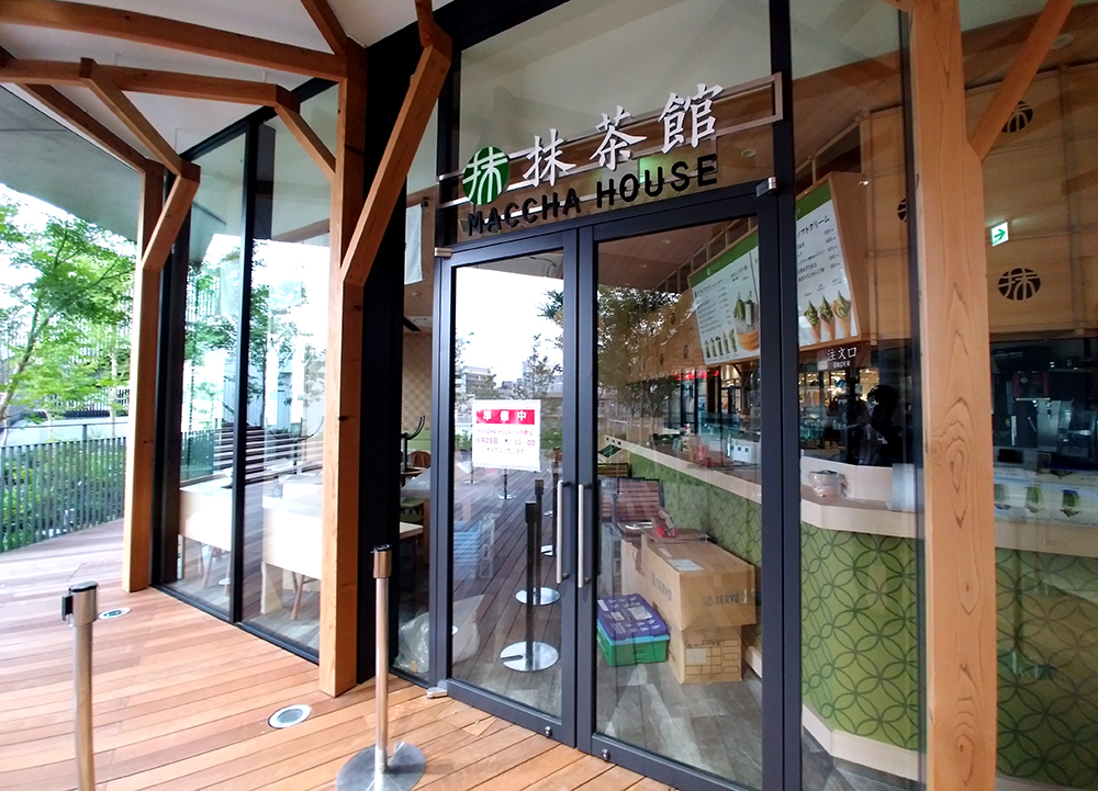 ウィズ 原宿2階のMACCHA HOUSE 抹茶館