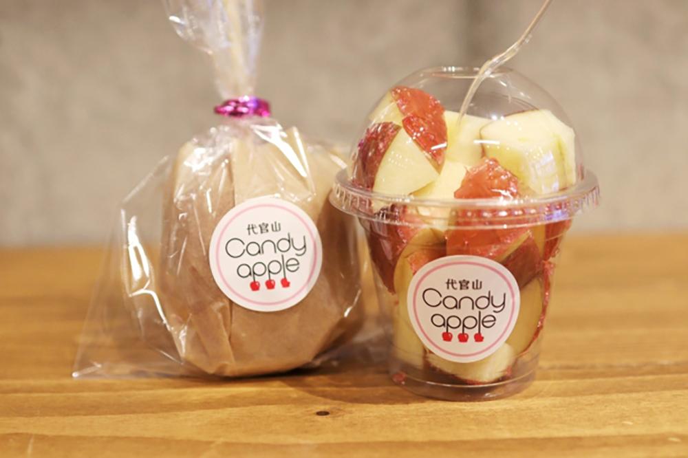 Candy appleのりんご飴の王道プレミアムプレーン 600円(税抜)