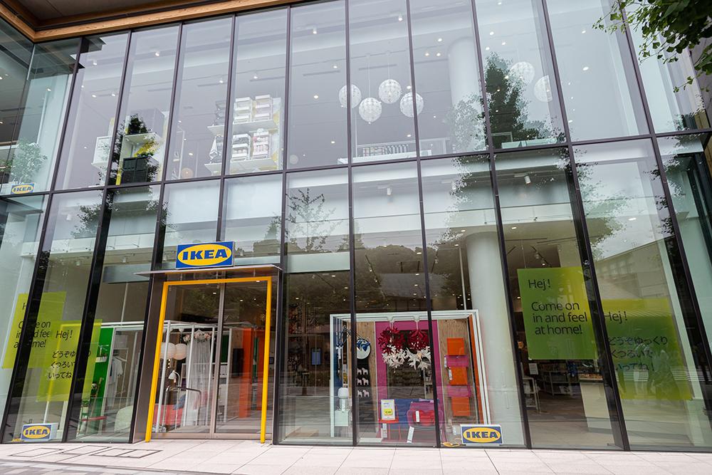 IKEA原宿の外観