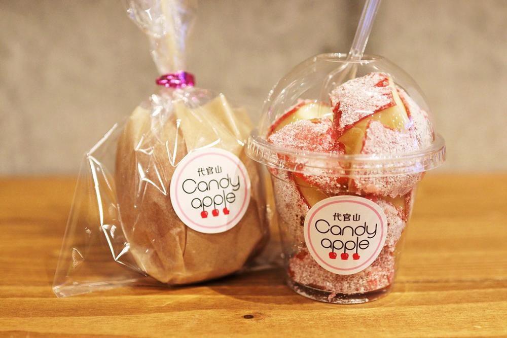Candy appleのヨーグルチョコりんご飴 700円(税抜)