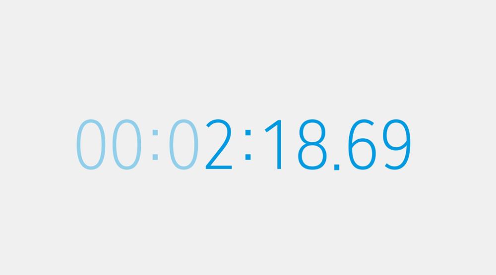 乗換所要時間は2分18秒69