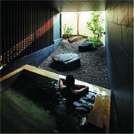 由縁別邸 代田の浴場
