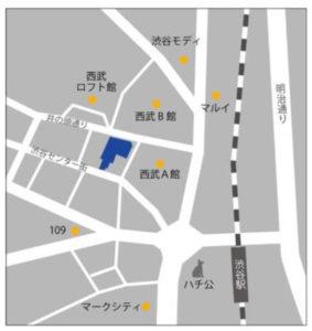 IKEA渋谷は渋谷駅から徒歩5分の好アクセス!(出典:イケアジャパン公式サイト)
