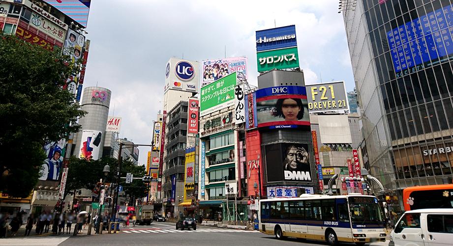 IKEA渋谷はFOREVER 21の跡地にオープン!(写真は2019年8月撮影)