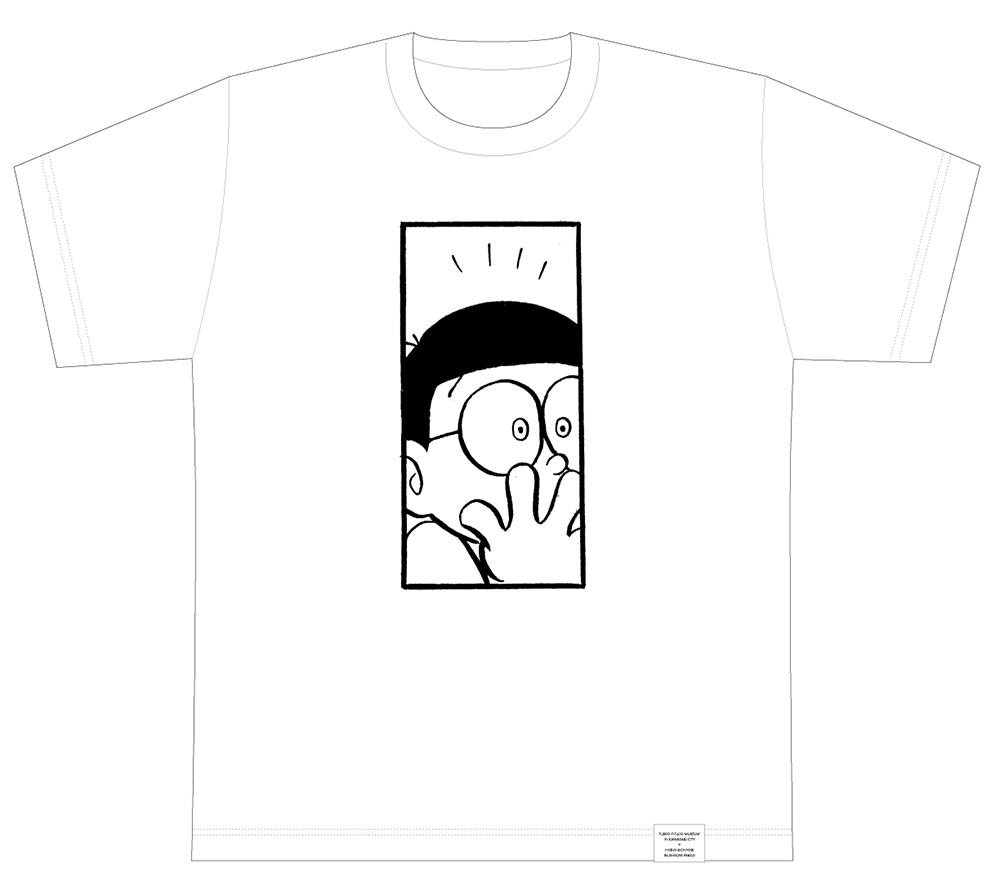 「ドラえもん1コマ拡大鑑賞展」の1コマ拡大オーダーTシャツ