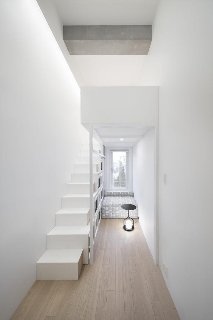 「MARUI TOCLUS 吉祥寺」の居室イメージ。2階居室は天井高を活かしたロフト付き(ロフトや家具備付のないタイプもあります)(写真:太田 拓実)
