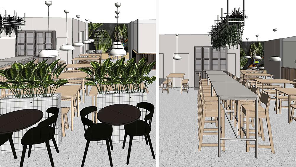 イケア渋谷の7階にオープンする「スウェーデンレストラン」