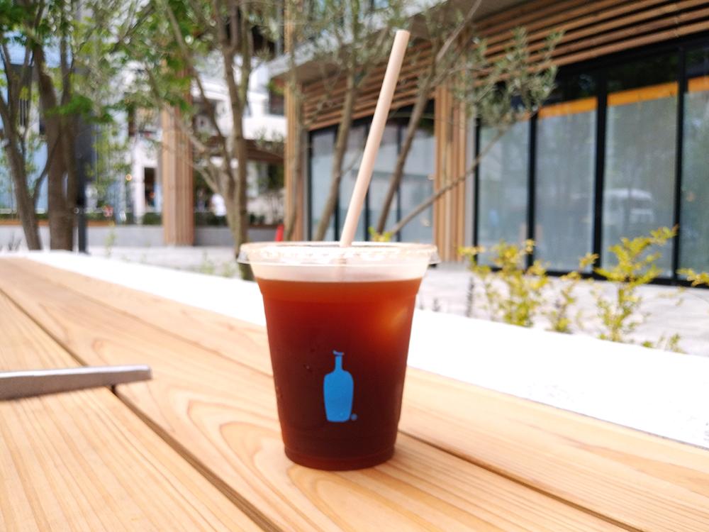 リニューアルした渋谷区北谷公園のブルーボトルコーヒー