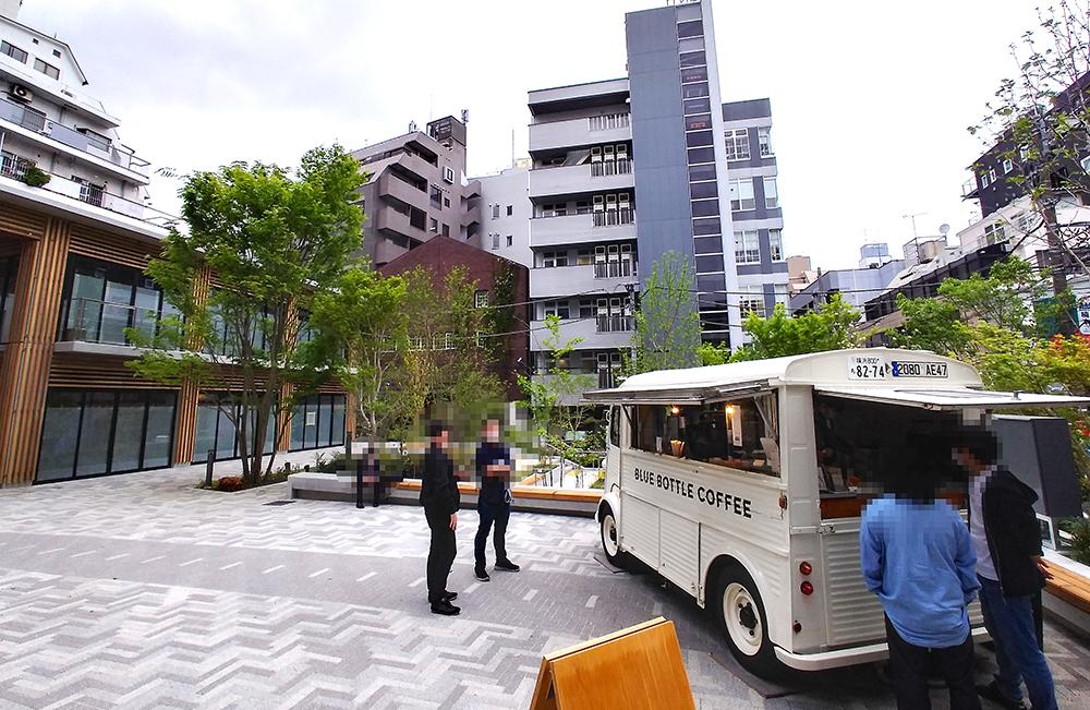 リニューアルした渋谷区北谷公園のランウェイエリア