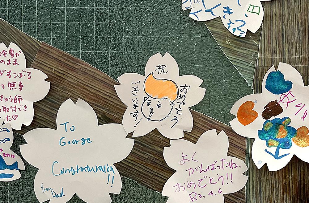 4/5からスタートした久我山桜「入学・進級編」にシブきちが!