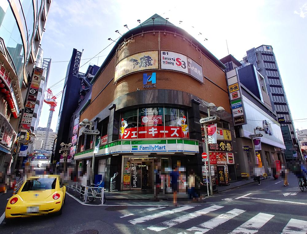 アクセス6:お疲れ様です!シェーキーズ渋谷店に到着です!