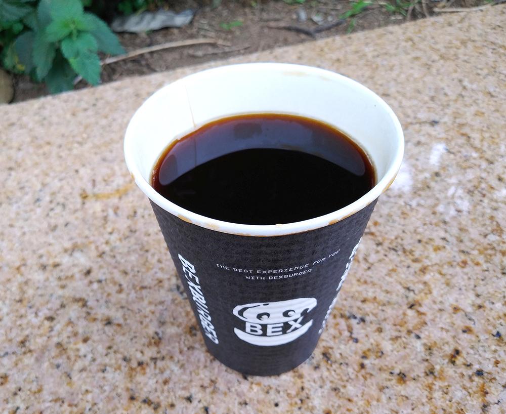 BEX BURGER(ベックスバーガー)のコーヒー