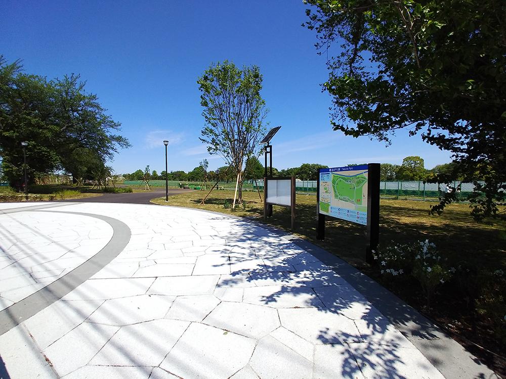 高井戸公園の新しくできる南地区とつながる入口