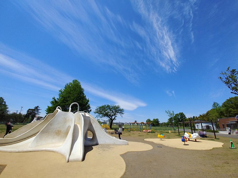 高井戸公園の遊具広場