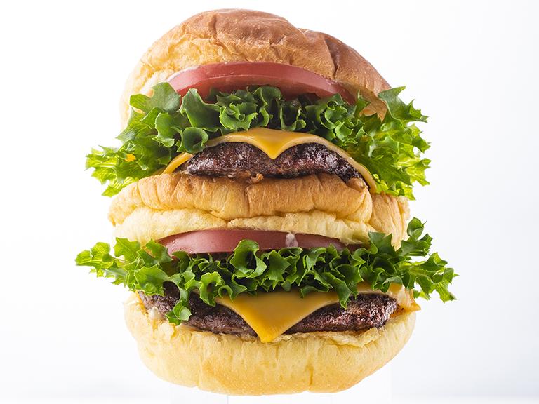 「BEX BURGER(ベックスバーガー)」の新商品ビックベックスチーズバーガー