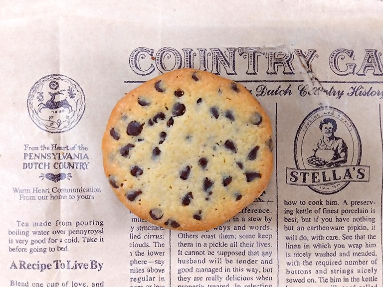 ステラおばさんのクッキーの定番「チョコレートチップ」