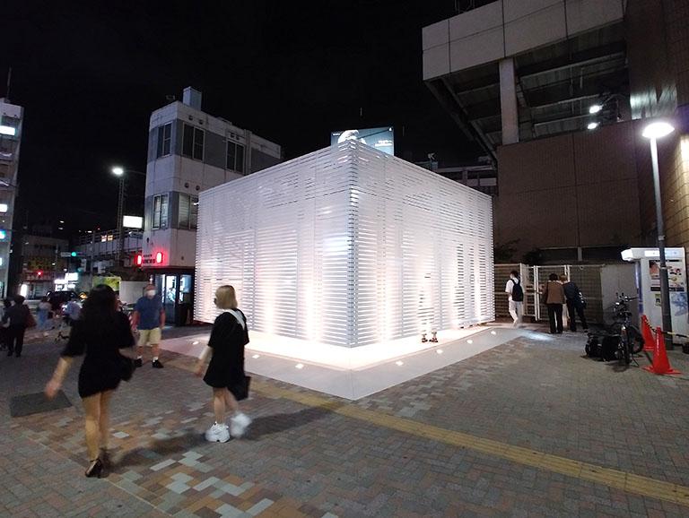 恵比寿駅前が明るくなったイメージに