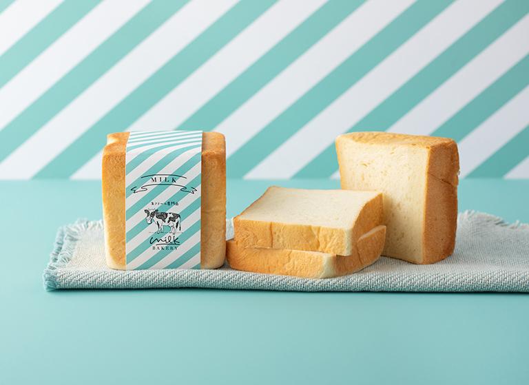 生クリーム専門店ミルクの人気ブランド「ミルクベーカリー」から新登場の「特濃ミルク食パン」は食べ方で美味しさも変わる