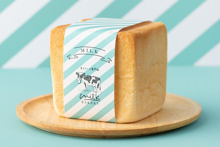 【吉祥寺】まるでスポンジ!生クリーム専門店ミルクベーカリー「特濃ミルク食パン」が新登場