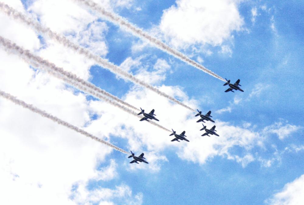 ブルーインパルス、パラ開会式は「杉並区の井の頭線6駅」上空で大旋回!未発表飛行ルートを大予想