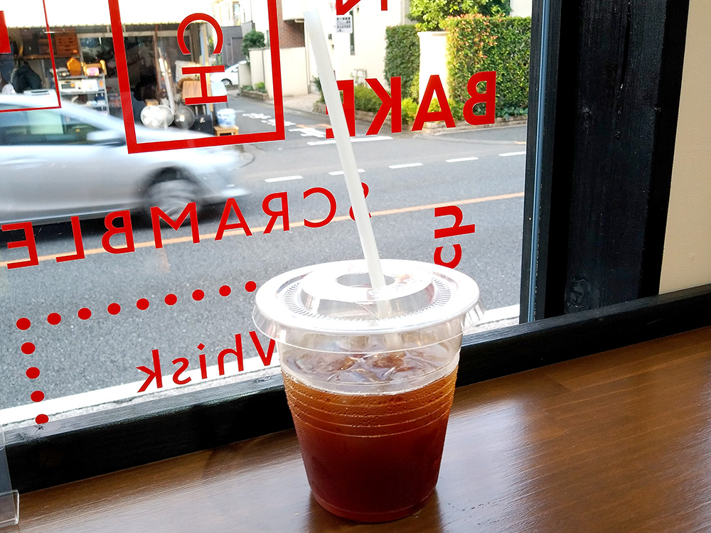 メルローズアンドモーガンの本店と同じ味で飲めるコーヒー