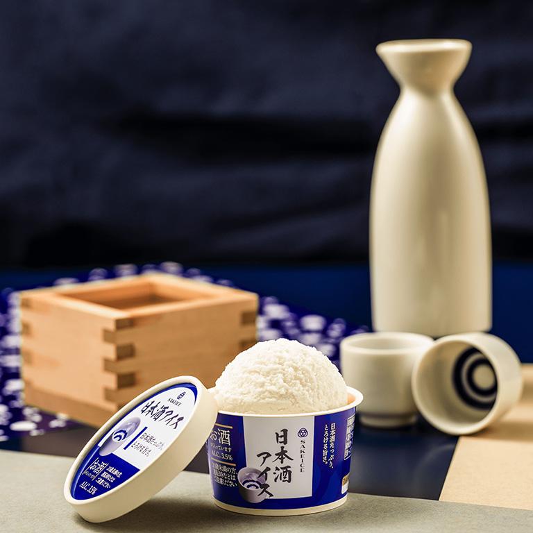 吉祥寺に初出店する日本酒アイスクリーム専門店「SAKEICE(サケアイス)」の定番、日本酒アイス